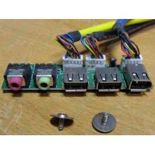 Панель передних разъемов (audio в Коврове, USB в Коврове, FireWire) для корпуса Chieftec (Ковров)
