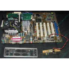 Материнская плата Asus P4PE (FireWire) с процессором Intel Pentium-4 2.4GHz s.478 и памятью 768Mb DDR1 Б/У (Ковров)
