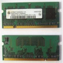 Модуль памяти для ноутбуков 256MB DDR2 SODIMM PC3200 (Ковров)